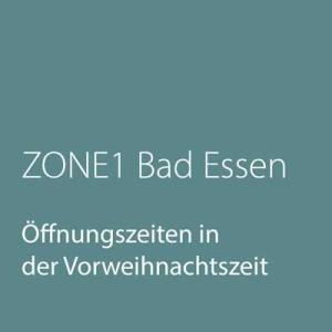 Öffnungszeiten ZONE1 Bad Essen