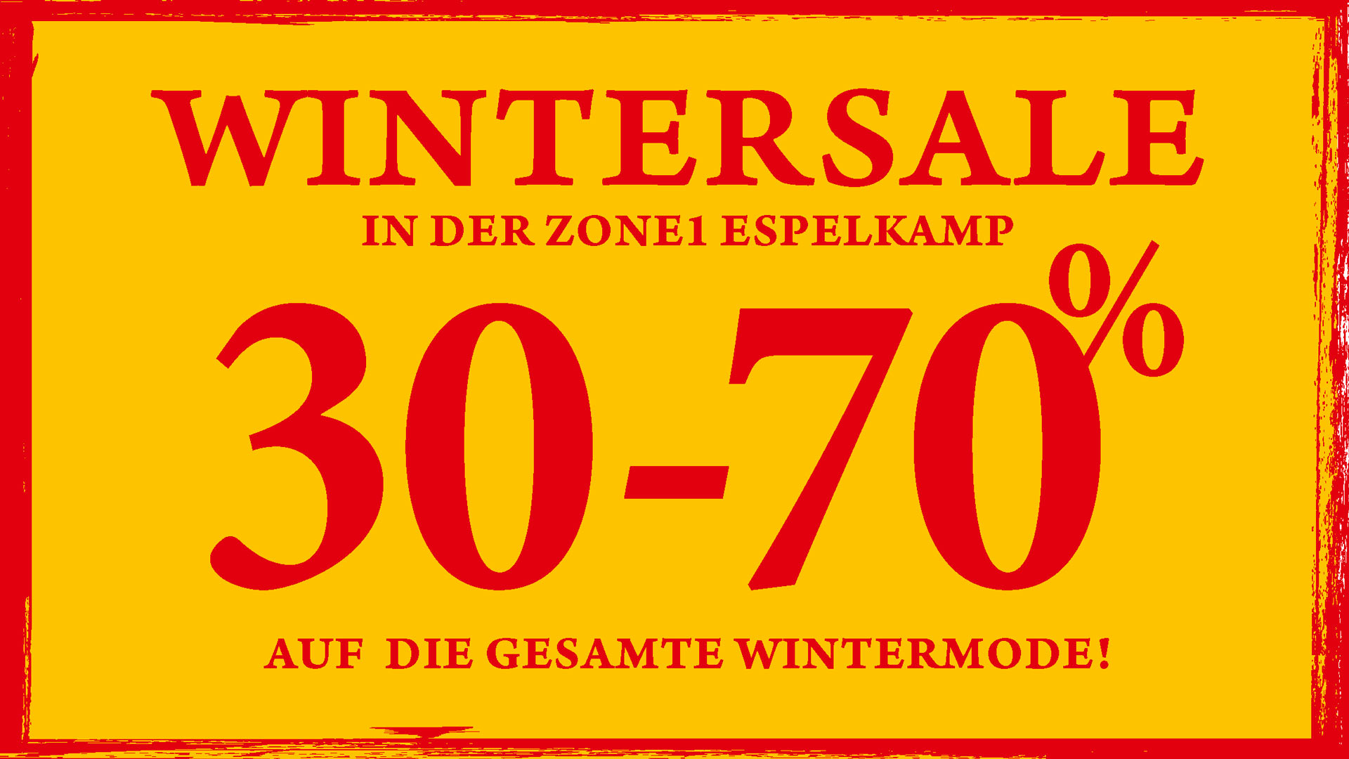 ZONE1 ES wintersale